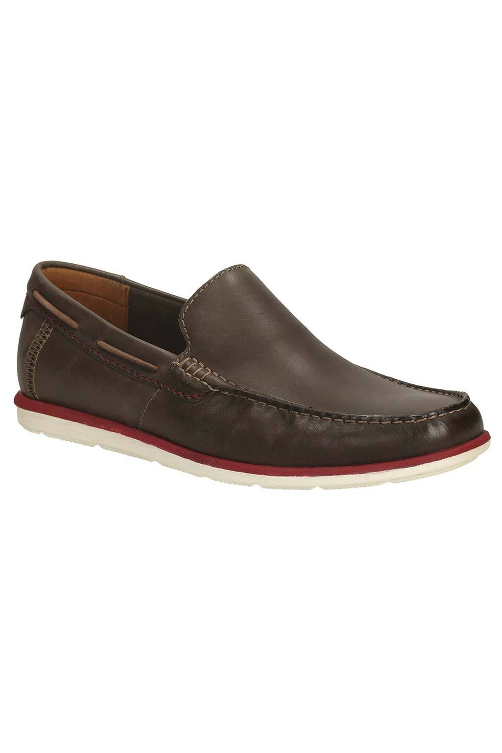 Clarks Kelan Lane Dark Brown Leather