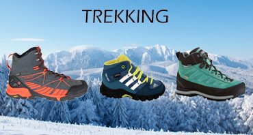 Find the best footwear for trekking