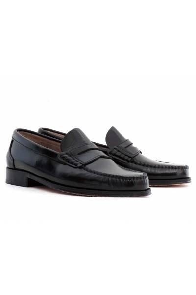 Zapato Piel  estilo castellano piso cuero