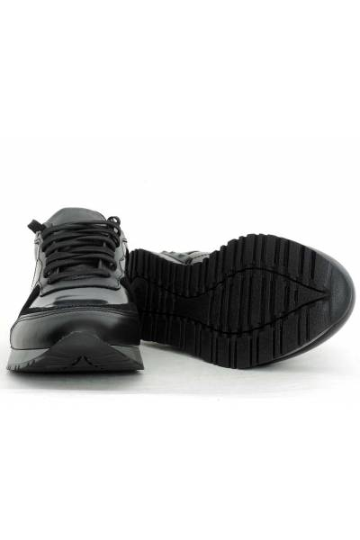 Zapato deportivo piel retrorunning
