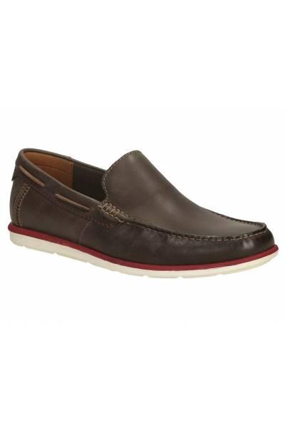 Clarks Kelan Lane Dark Brown Leather