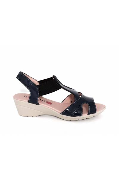 leather sandals Baerchi 42402 Navy