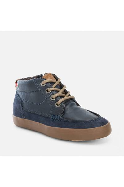 Mayoral boat style sneakers navy blue 44663 61