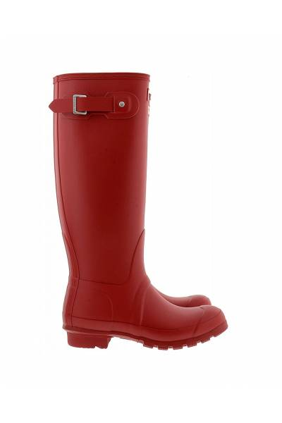 Hunter Womens Org Tall Gloss Military Red WFT1000RGL