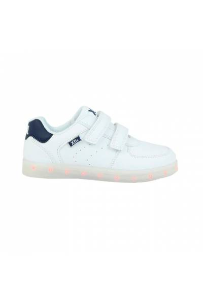 XTI 54623 Sport shoes for kids with lights and rechargable Navy