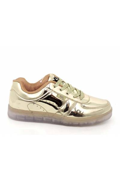 XTI 46372 ORO Zapatillas con luces y recargable