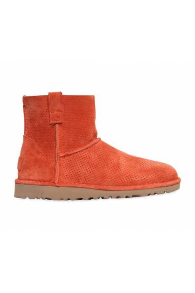 Ugg W Classic Unlined Mini Perf Fire Opal 1016852