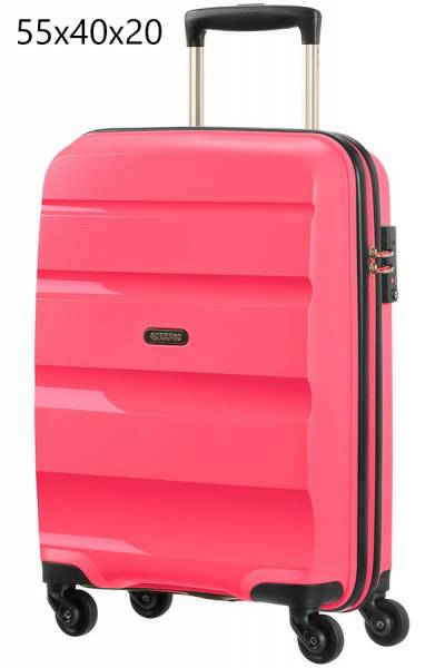 American Tourister Bon Air Spinner S Strict 55x40x20cm Azalea Pink