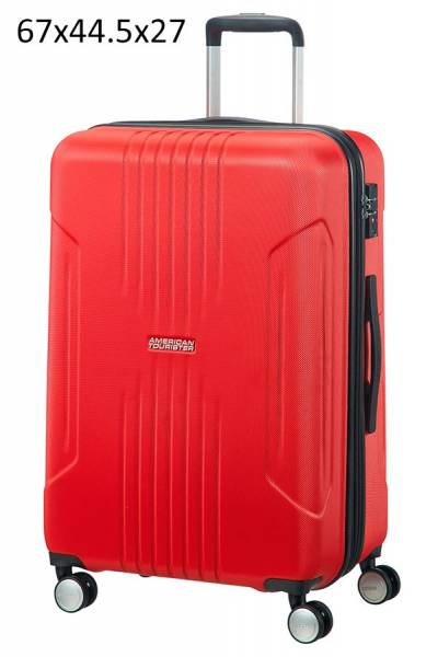 American Tourister Tracklite Spinner 67x44.5x27cm Flame Red
