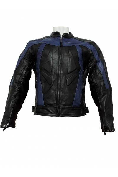 Mdp motor jacket 1007 black  Blue