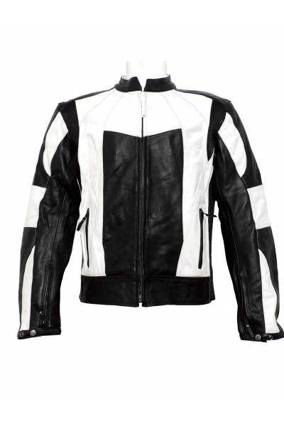 Mdp motor jacket 1002  black  White