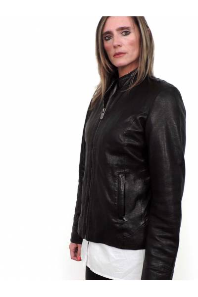 Deercraft Lorel Black Leather jacket
