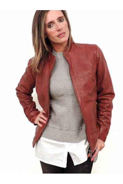 Deercraft Lorel Paprika Leather jacket