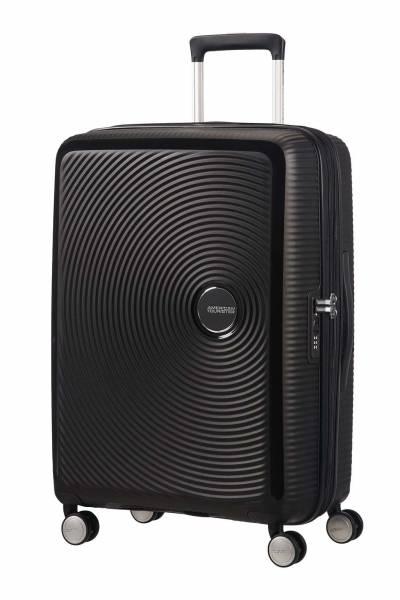 American Tourister Soundbox spinner  Black