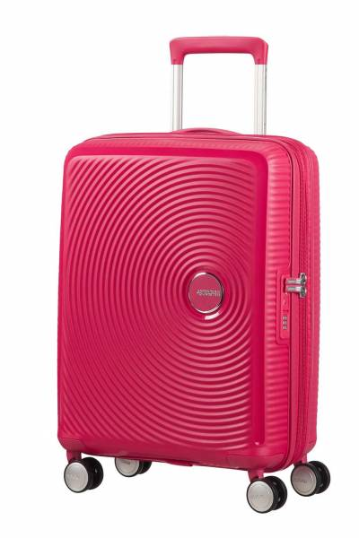 American Tourister Soundbox spinner Pink