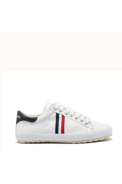 El Ganso Low Top Leather Ribbon deportivo white