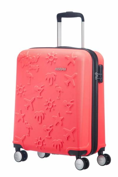 American Tourister good vibes coral
