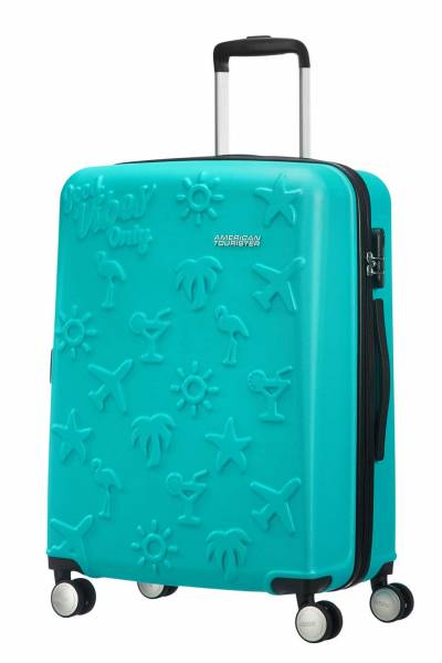 American Tourister good vibes turquoise