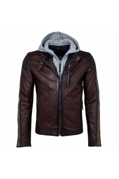 Gipsy Steep ox red jacket for man