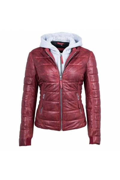 Deercraft Rubi red 2 w leather jacket
