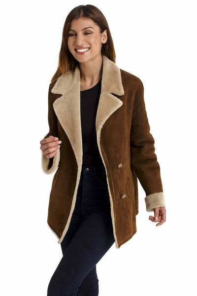 Medinapiel  19001 sandal  double face coat