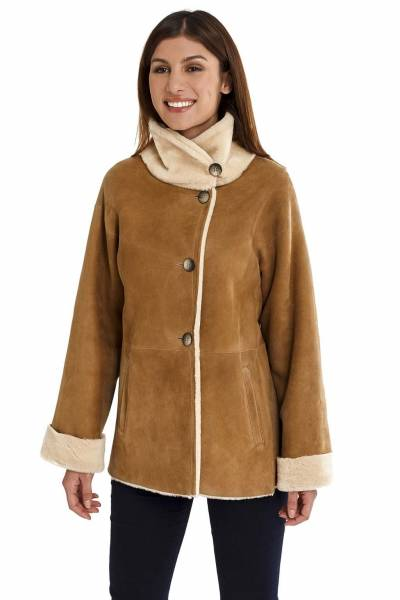 Medinapiel  19008 indy double face coat
