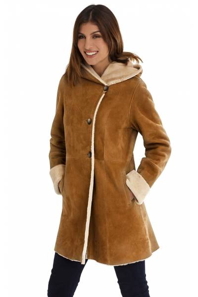 Medinapiel  19009 indy double face coat