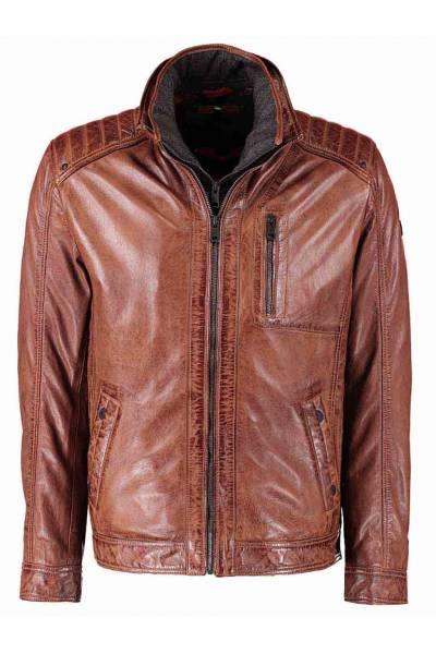 mdp 51872 54  chaqueta de cuero
