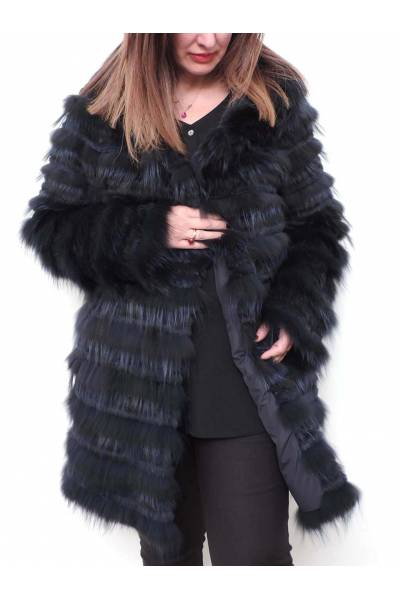 chaqueta medinapiel 38111 azul