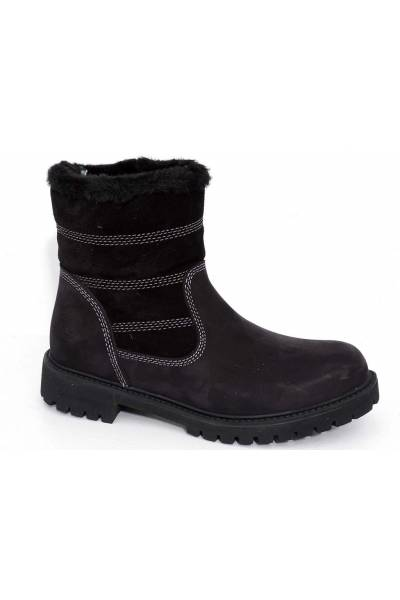 darkwood 7096 01NU Black boot