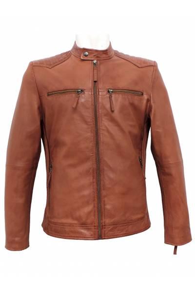 MDP jacket 2194 cogñac