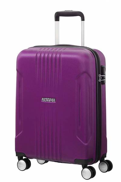 American Tourister Tracklite Spinner  Purple