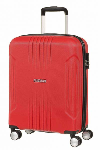 American Tourister Tracklite Spinner Red Flame