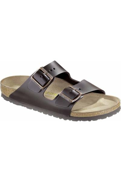 Birkenstock Arizona nubuck leather dark brown