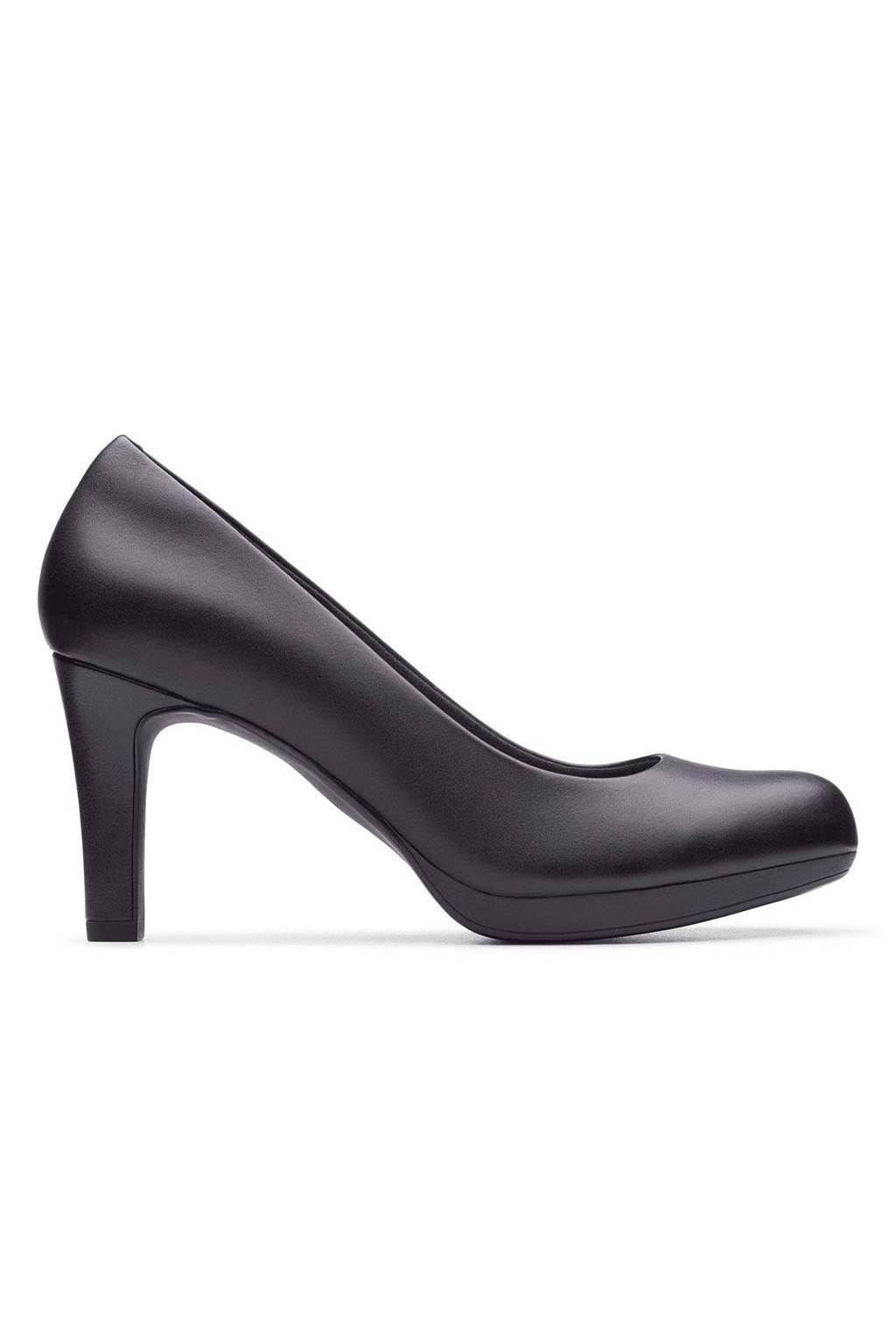 Clarks Adriel Viola Black Leather