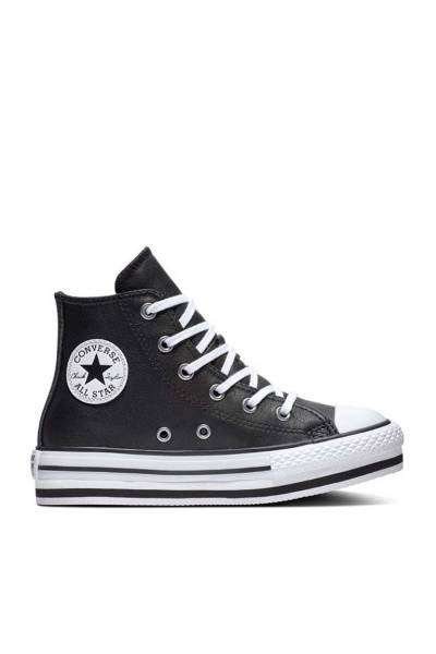 Converse All Star Hi  666391c  001 junior   platform eva black