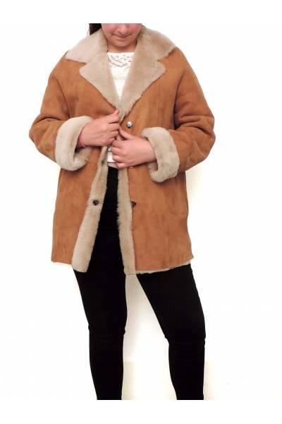 Medinapiel chaqueta piel vuelta ed7001b 275