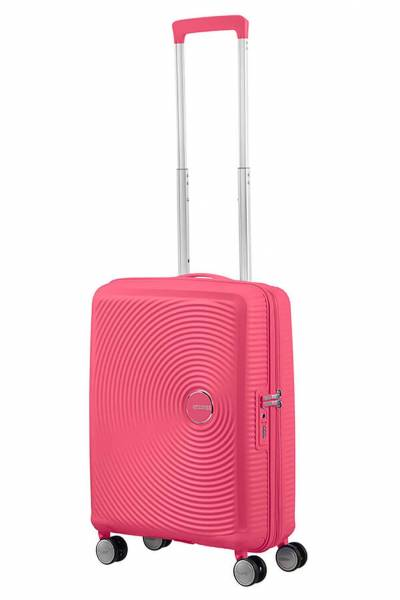 American Tourister Soundbox spinner hot Pink