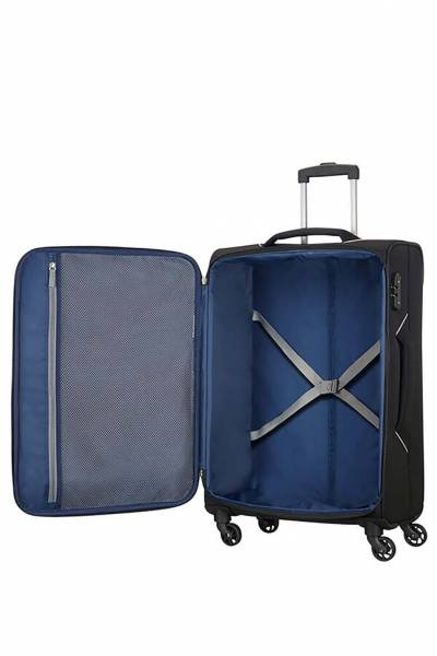 American Tourister holiday spinner negro