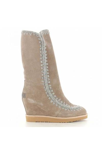 Mou eskimo french toe wedge tall dkst 151000A