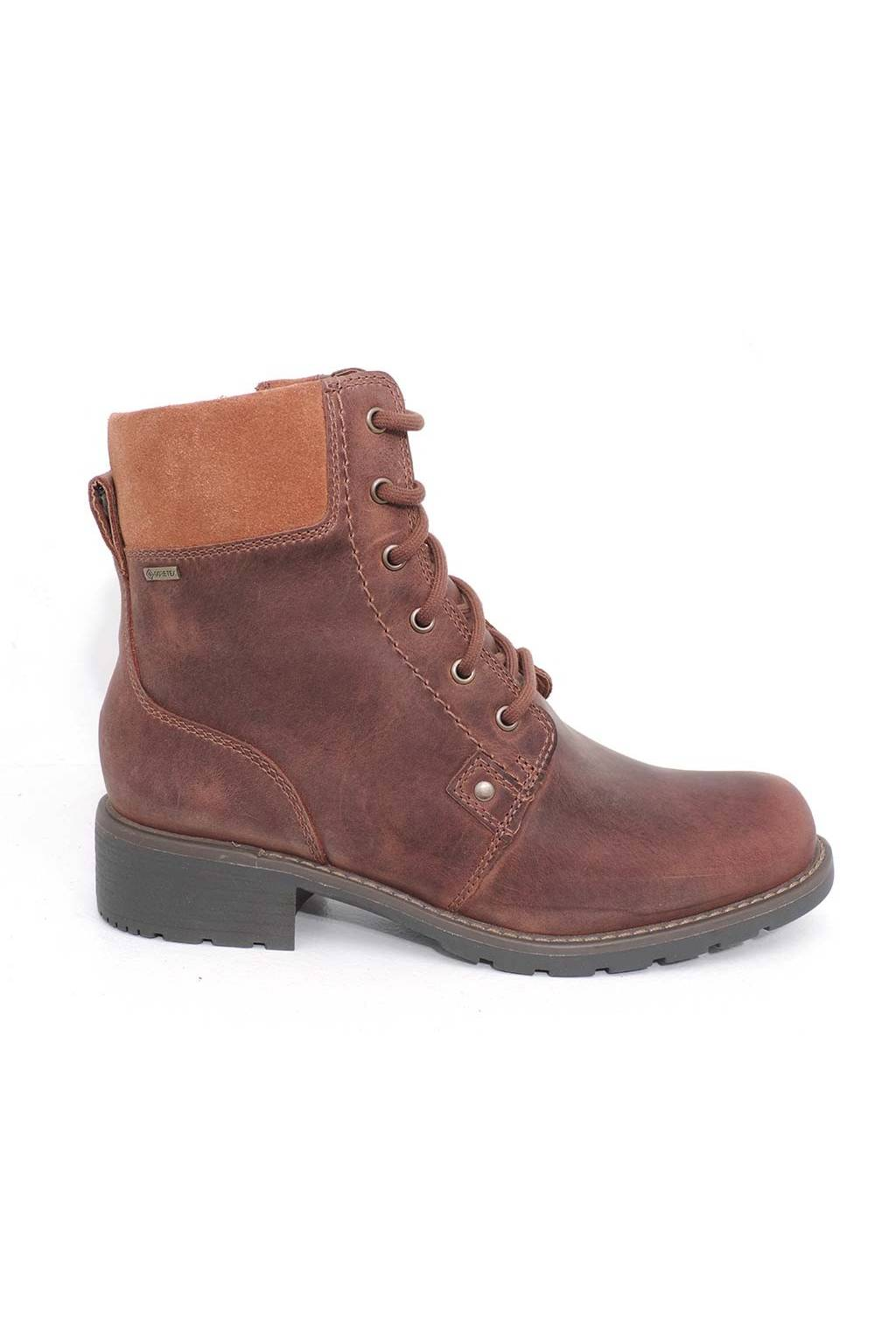 Clarks Orinoco Up GTX Tan Leather