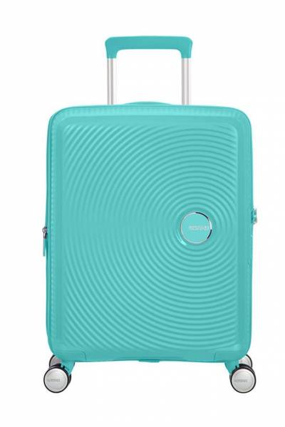 American Tourister Soundbox spinner Poolside Blue