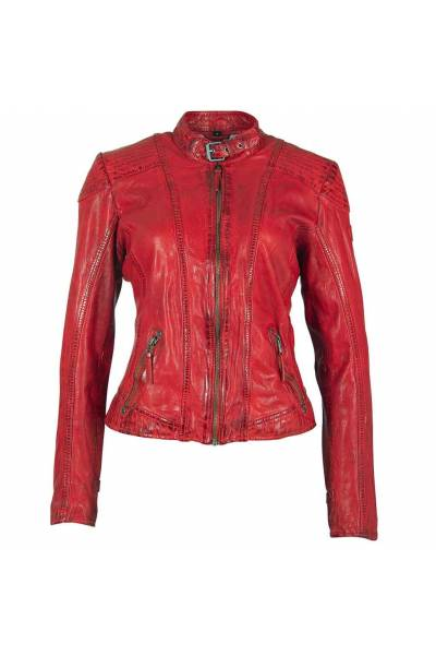gipsy girls Pacey red lamb vintage jacket
