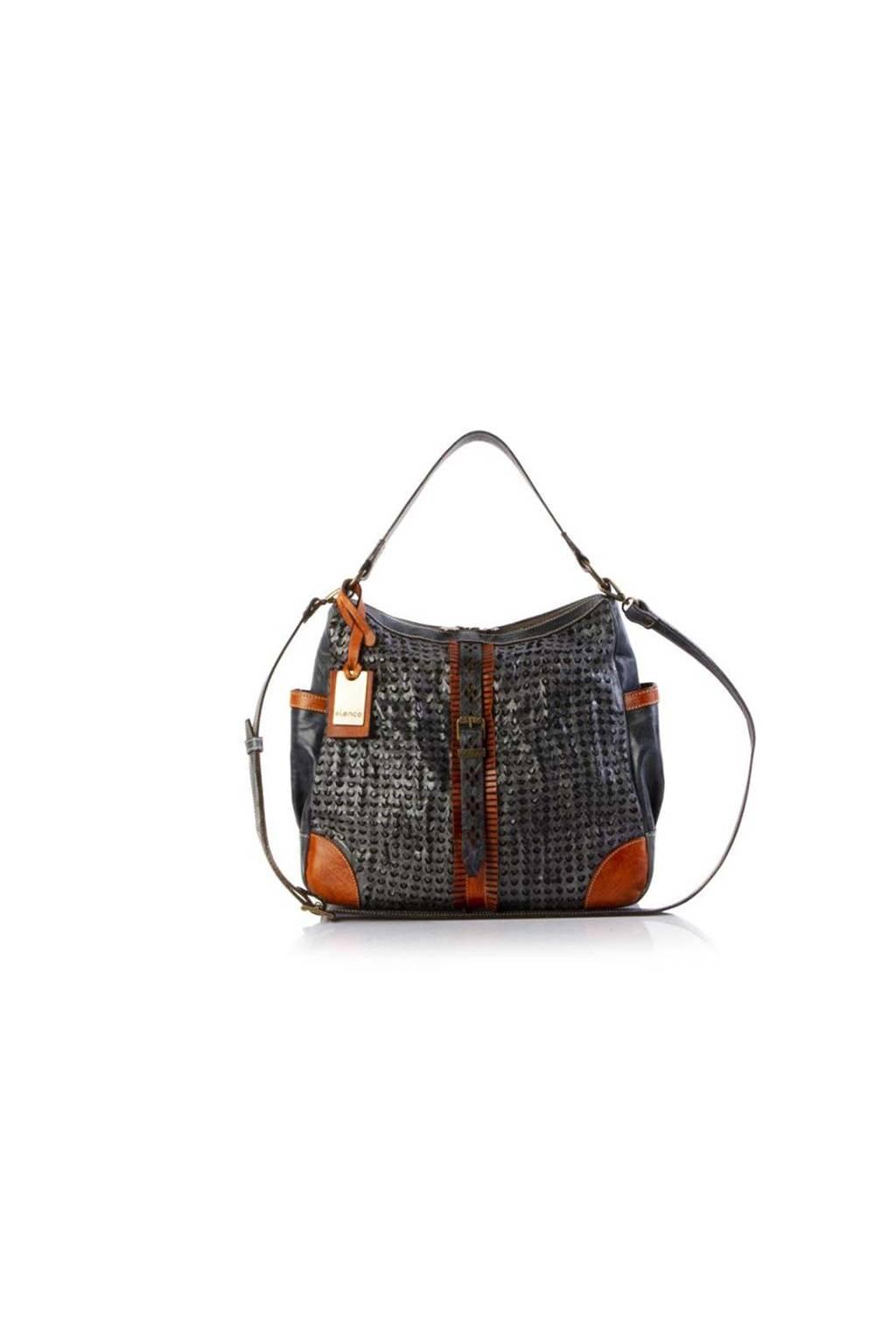 Elenco 5241 blue trenzado bag