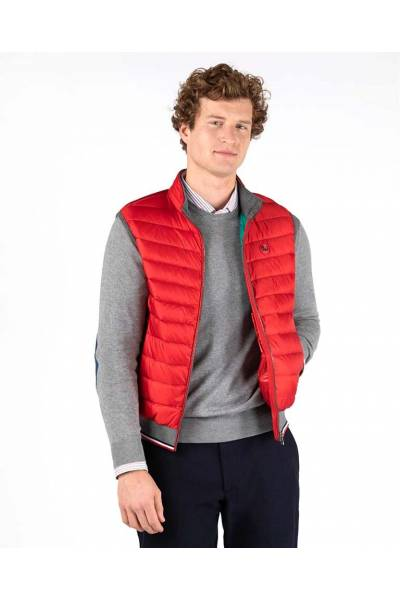 El Ganso chaleco down basic waist coat red  200007