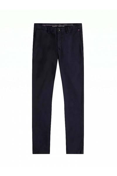 Tommy hilfiger pantalon chino bleecker th flex satin mw0mw13287