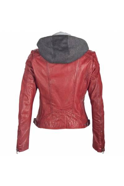 Gipsy jacket abby lamb malaga veg ox red