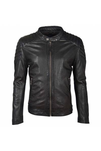 Gipsy boy galton black lamb eco gavi veg jacket