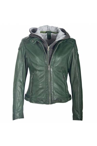 Gipsy jacket abby dark green lamas