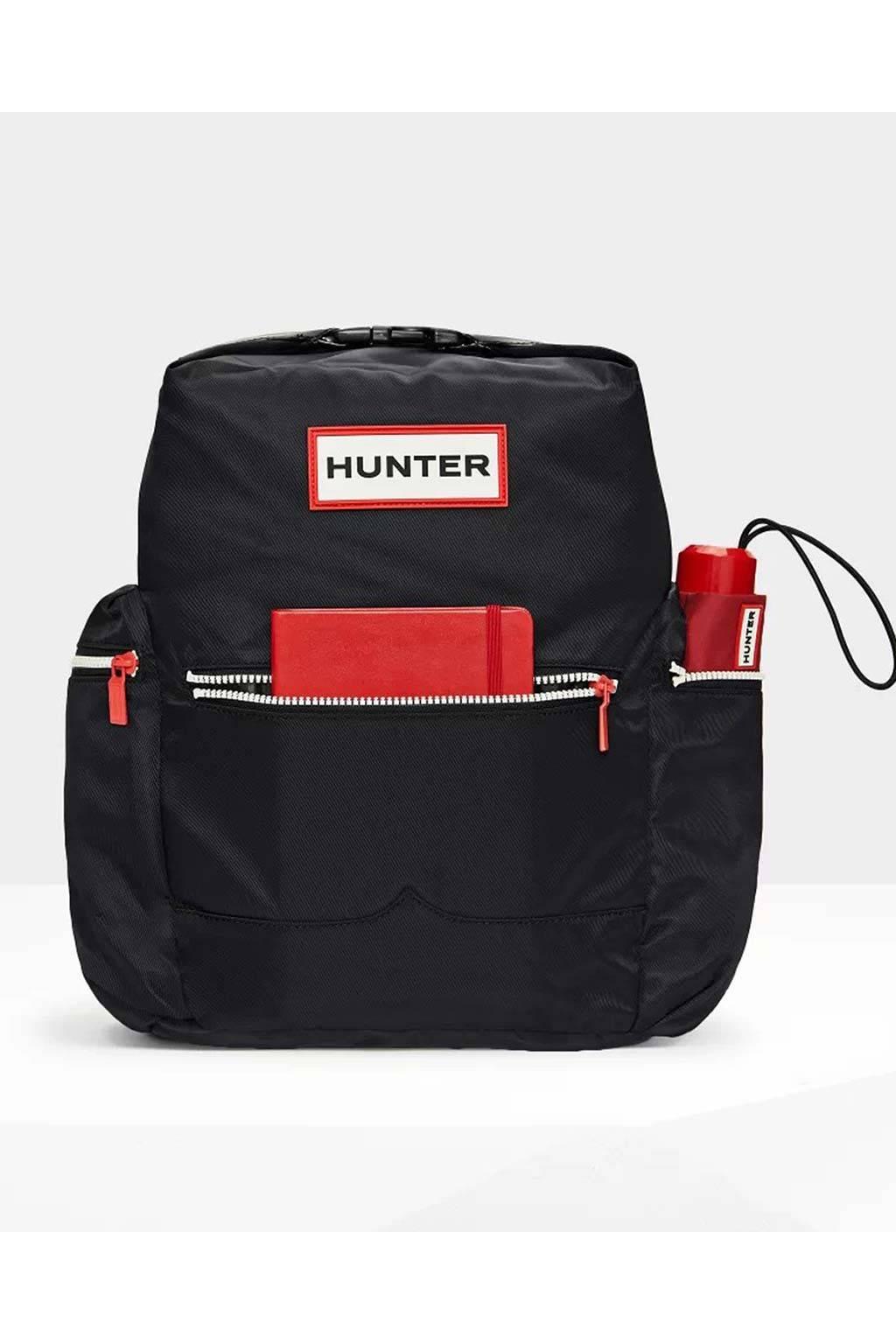 Hunter Mochila con clip black